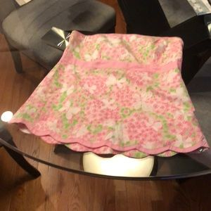 Lilly Pulitzer Sz 8 strapless top.
